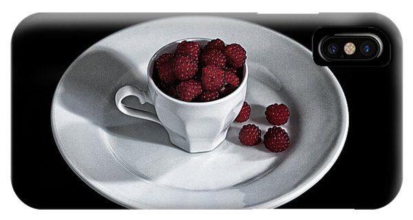 Ruspberries In The Cup - Livid Still-life IPhone Case