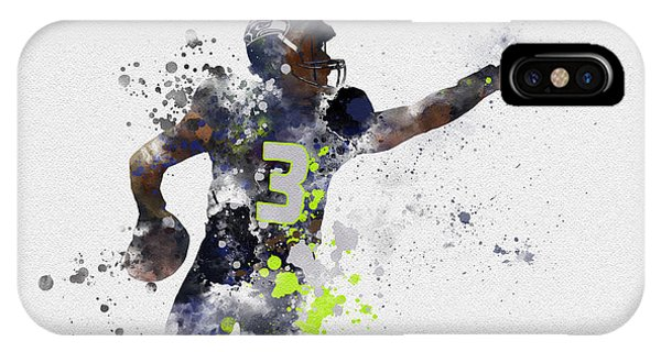 Nfl iPhone Case - Russell Wilson by My Inspiration