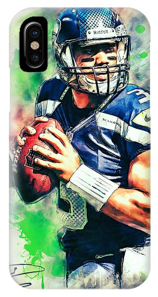 Russell Wilson IPhone Case