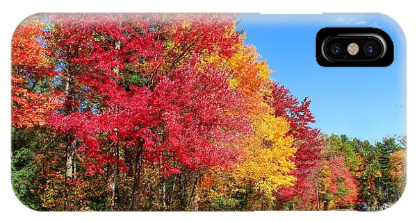 IPhone Case featuring the photograph Russellville Road Fall Colors by Sven Kielhorn