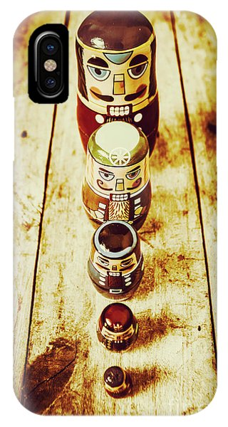 Moustache iPhone Case - Russian Doll Art by Jorgo Photography - Wall Art Gallery