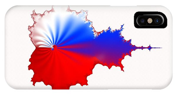 Russian Fractal Curve IPhone Case
