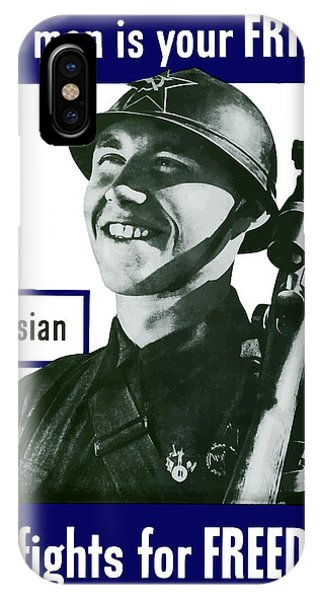 Army iPhone Case - Russian - This Man Is Your Friend by War Is Hell Store