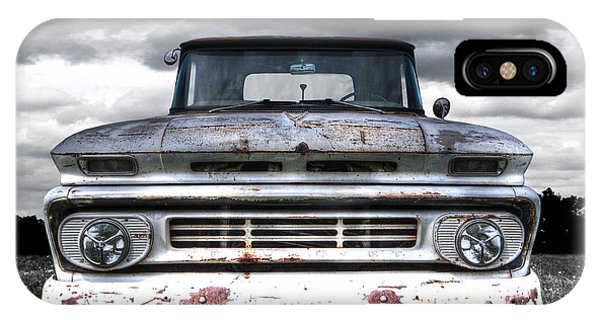 Rust And Proud - 62 Chevy Fleetside IPhone Case