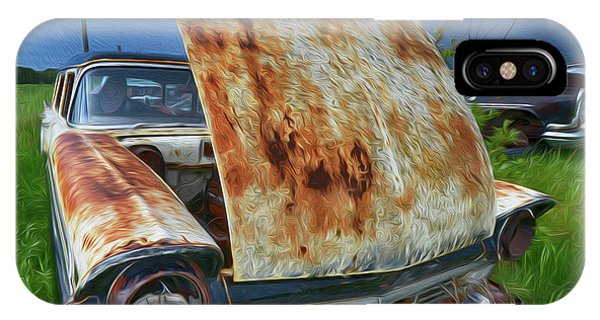 iPhone Case - Rust Never Sleeps 9 by Bob Christopher