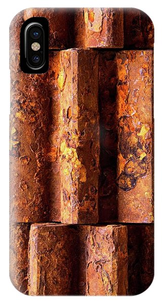 Rusted Gears 2 IPhone Case