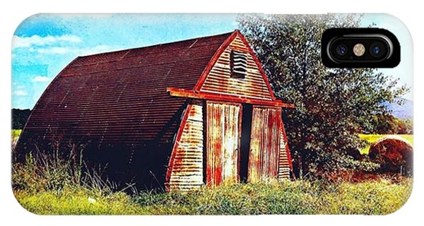 Watercolor iPhone Case - Rusted Shed, Lazy Afternoon by Steven Gordon