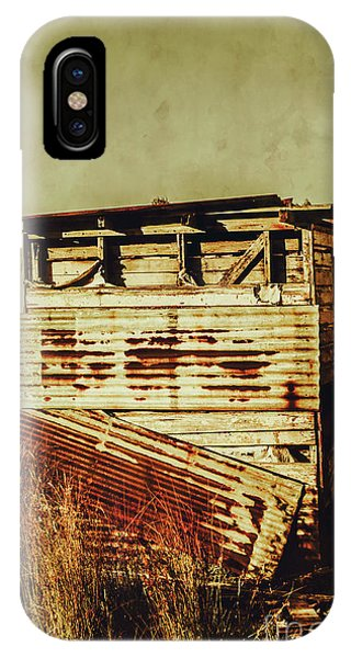 Exterior iPhone Case - Rustic Abandonment by Jorgo Photography - Wall Art Gallery