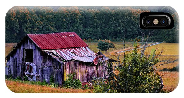 Rustic Barn - Wears Valley Tennessee IPhone Case