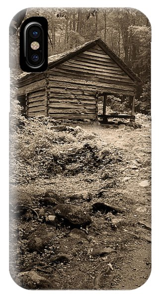 Rustic Cabin IPhone Case