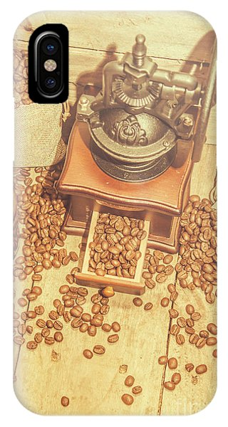 Container iPhone Case - Rustic Country Coffee House Still by Jorgo Photography - Wall Art Gallery
