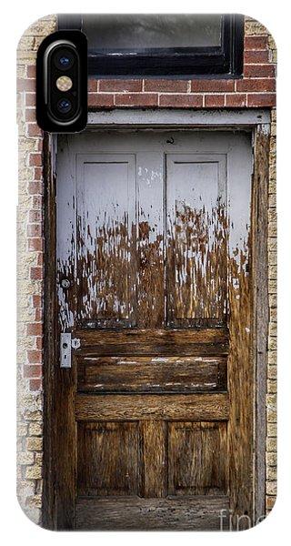 Rustic Door IPhone Case