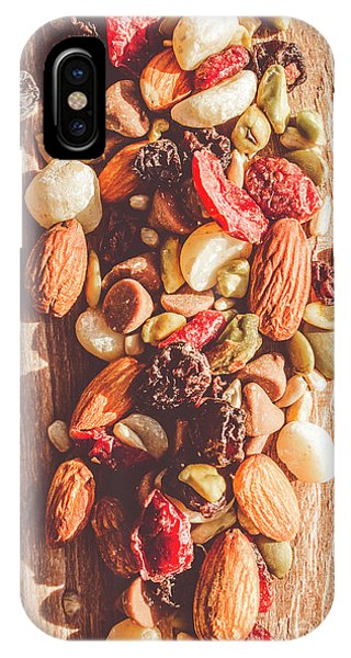 Sunflower Seeds iPhone Case - Rustic Dried Fruit And Nut Mix by Jorgo Photography - Wall Art Gallery