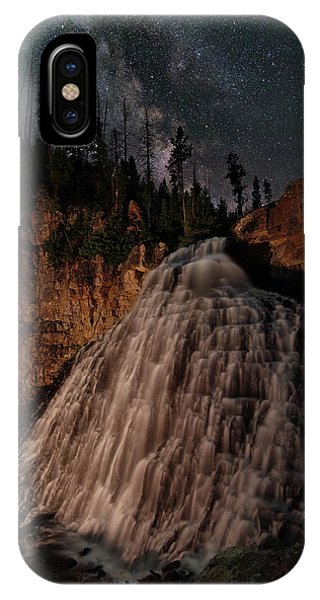 Mammoth Hot Springs iPhone Case - Rustic Falls Forever by Mike Berenson