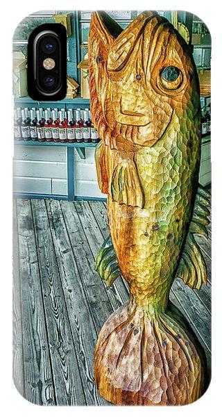 Rustic Fish IPhone Case