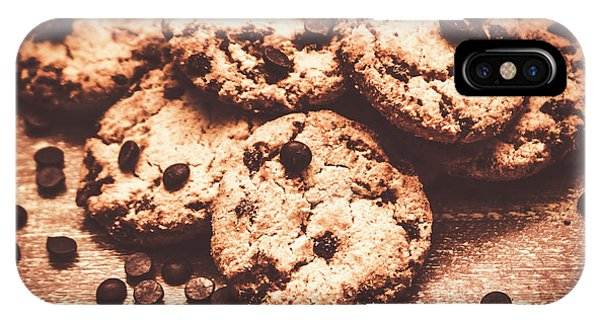 Dessert iPhone Case - Rustic Kitchen Cookie Art by Jorgo Photography - Wall Art Gallery
