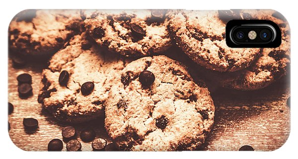 Chip iPhone Case - Rustic Kitchen Cookie Art by Jorgo Photography - Wall Art Gallery