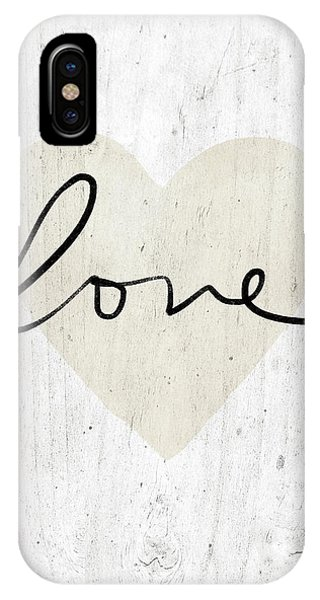 Bridal iPhone Case - Rustic Love Heart- Art By Linda Woods by Linda Woods