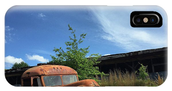 Rustic Memories 1950s IPhone Case
