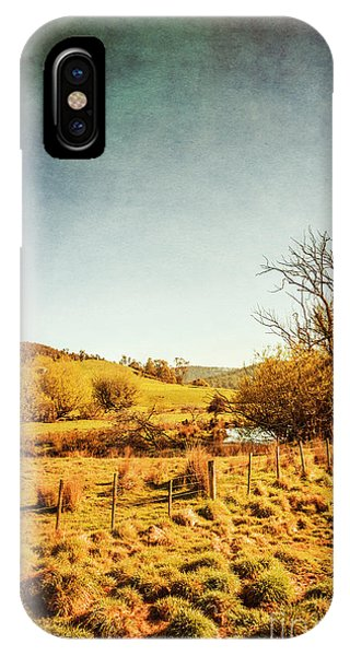 Old Fashioned iPhone Case - Rustic Pastoral Australia by Jorgo Photography - Wall Art Gallery