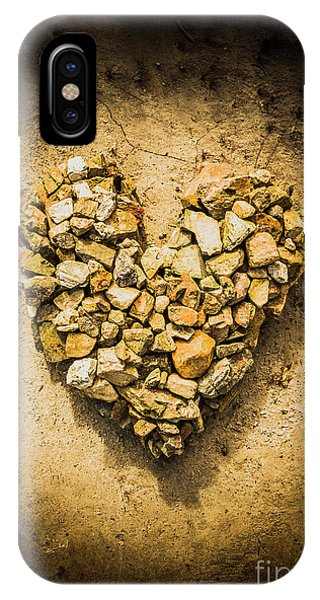 Stone Wall iPhone Case - Rustic Rock Romance by Jorgo Photography - Wall Art Gallery