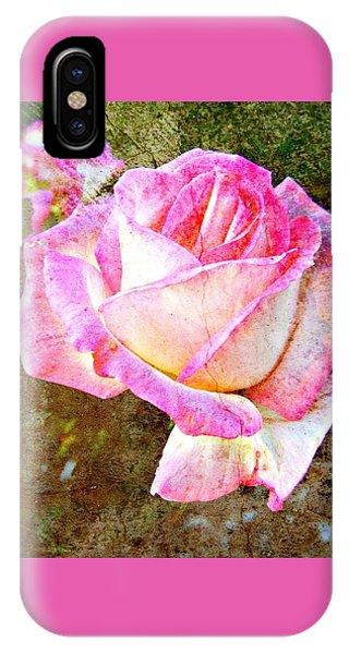 Rustic Rose IPhone Case