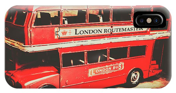 Greater London iPhone Case - Rustic Routemaster by Jorgo Photography - Wall Art Gallery