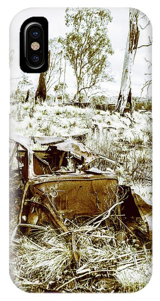 Abandon iPhone Case - Rustic Rural Decay by Jorgo Photography - Wall Art Gallery