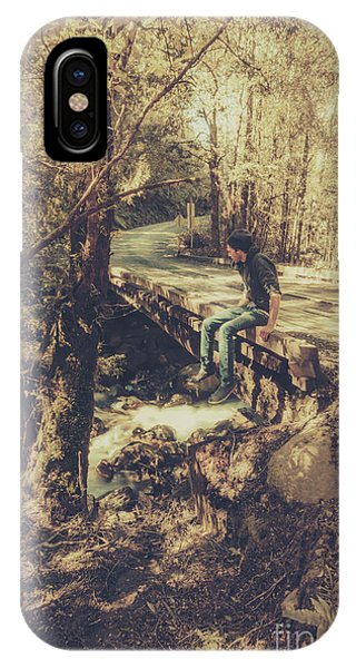 Explorer iPhone Case - Rustic Rural Retreat by Jorgo Photography - Wall Art Gallery