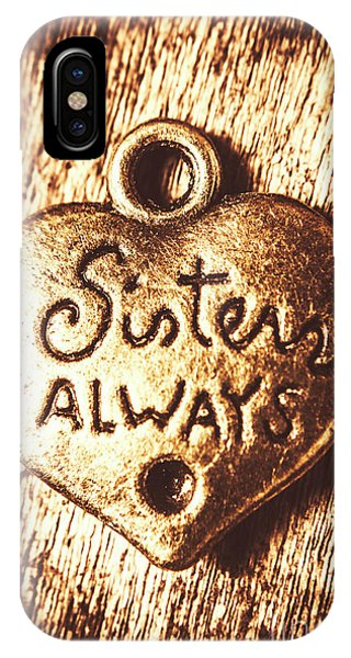 Sister iPhone Case - Rustic Sisters Always Charm by Jorgo Photography - Wall Art Gallery