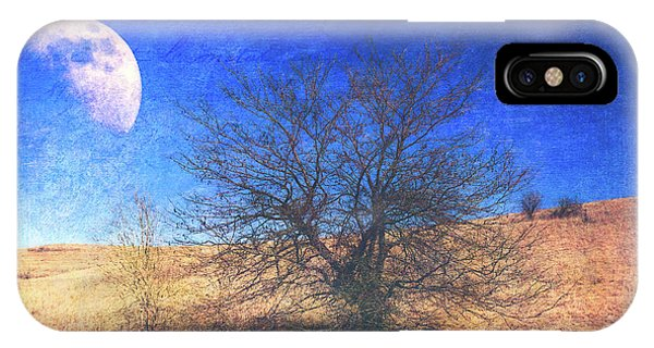 IPhone Case featuring the photograph Rustic Winter Prairie by Anna Louise