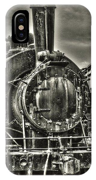 Rusting Locomotive IPhone Case