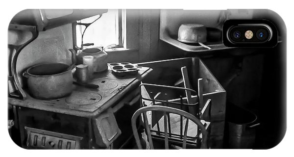 Rusting Pots And Pans, Bodie Ghost Town IPhone Case