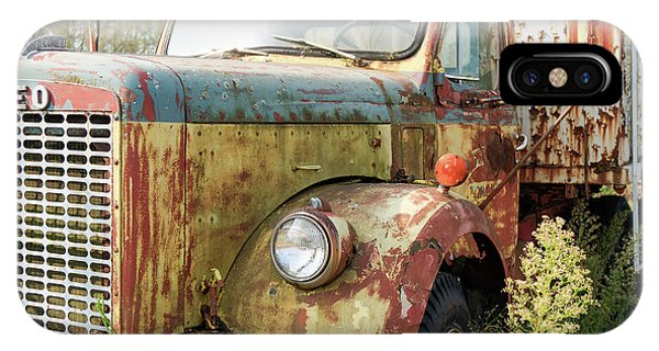 Rusty And Crusty Reo Truck IPhone Case