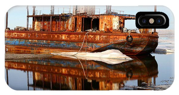 Rusty Barge IPhone Case