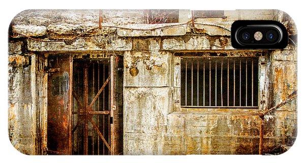 Rusty Brig At Fort Hancock IPhone Case