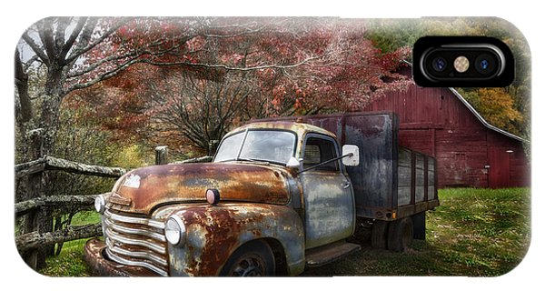 Rusty Chevy Pickup Truck IPhone Case