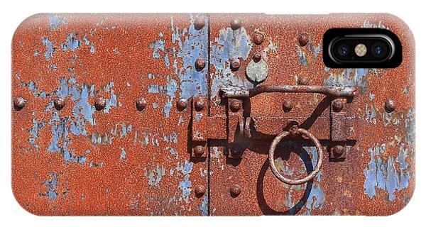Rusty Door IPhone Case