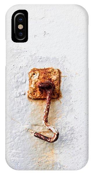 Rusty Hook IPhone Case