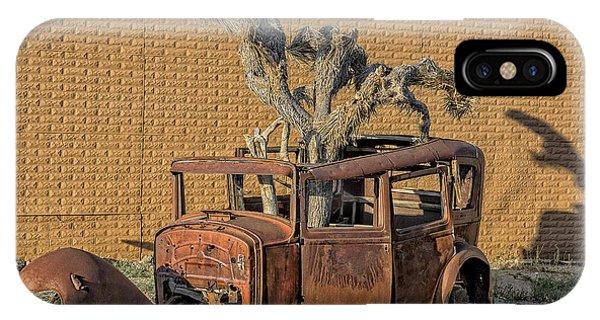 Rusty In The Desert IPhone Case