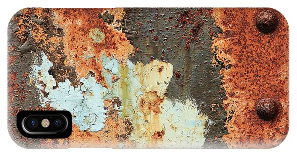 Rusty Layers IPhone Case
