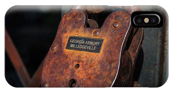 IPhone Case featuring the photograph Rusty Lock by Doug Camara