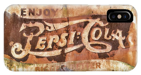 Rusty Pepsi Cola IPhone Case