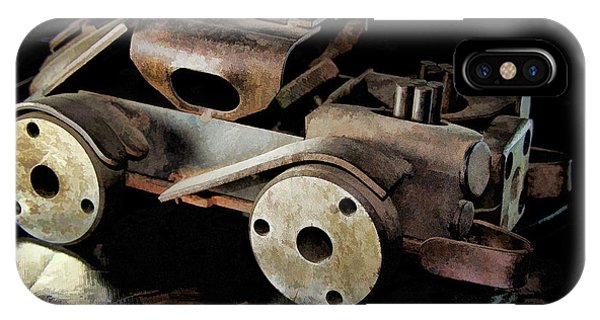 Rusty Rat Rod Toy IPhone Case