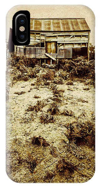Historic House iPhone Case - Rusty Rural Ramshackle by Jorgo Photography - Wall Art Gallery