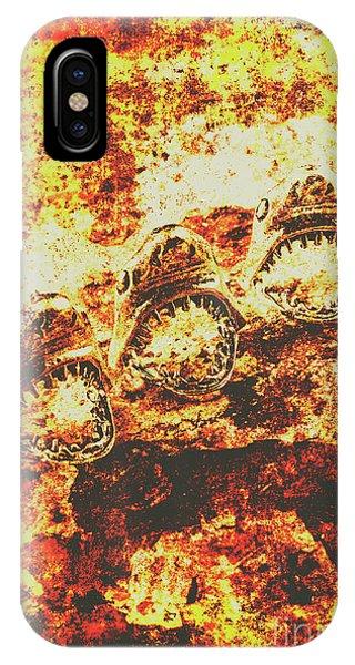 Fossil iPhone Case - Rusty Shark Scene by Jorgo Photography - Wall Art Gallery