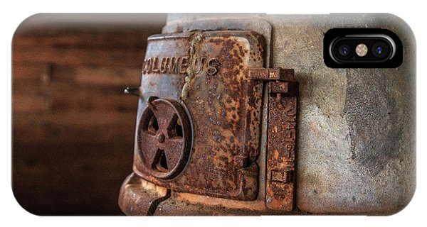 IPhone Case featuring the photograph Rusty Stove by Doug Camara