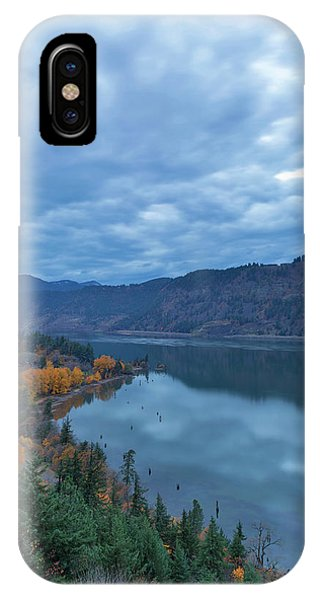 Ruthton Point During Evening Blue Hour IPhone Case