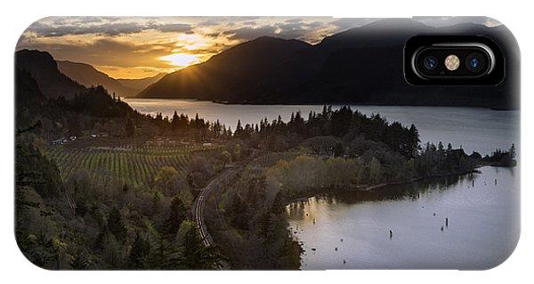 Ruthton Springtime Sunset IPhone Case