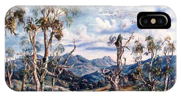 Rwetyepme, Mount Sonda Central Australia IPhone Case